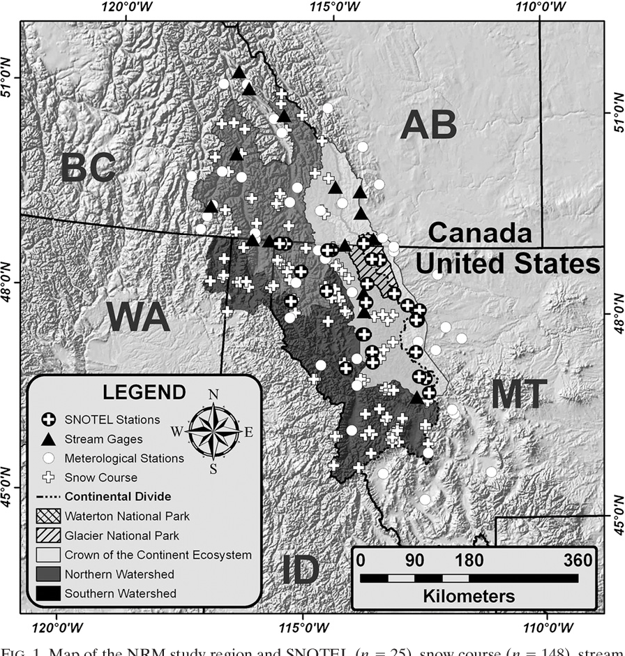 Figure 6 from Climatic Controls on the Snowmelt Hydrology of