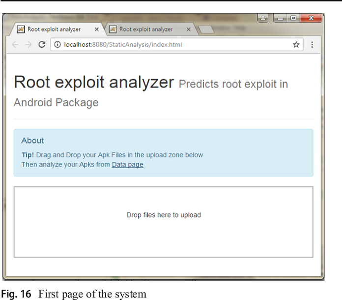 Root Exploit Detection and Features Optimization: Mobile
