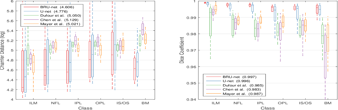 Figure 4 for Pathological OCT Retinal Layer Segmentation using Branch Residual U-shape Networks
