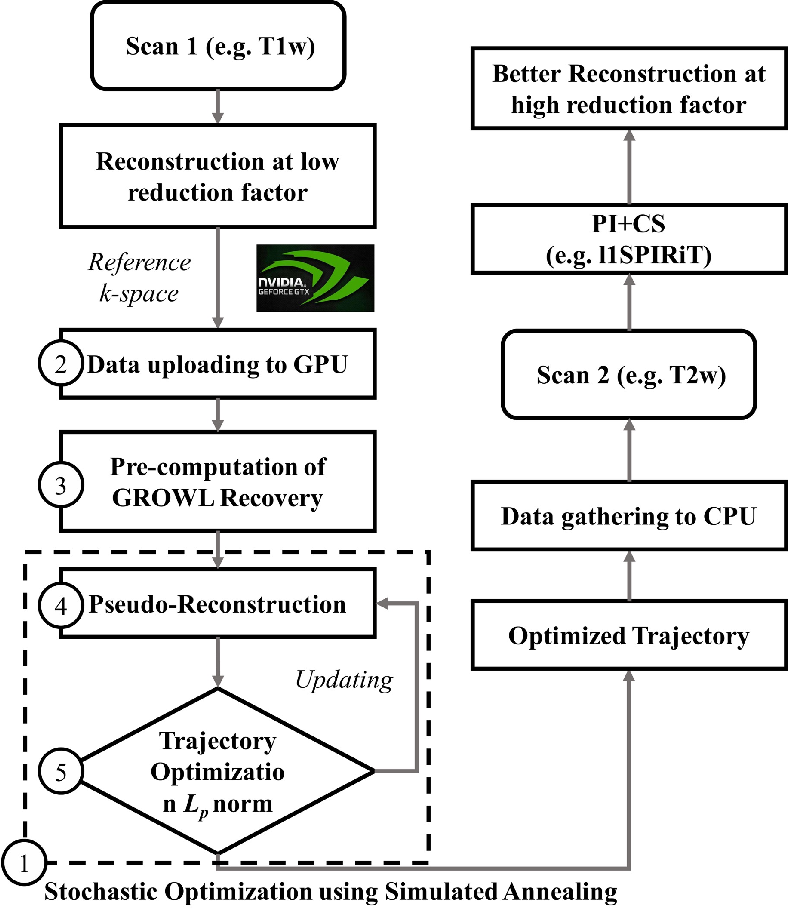 Figure 1 for OUTCOMES: Rapid Under-sampling Optimization achieves up to 50% improvements in reconstruction accuracy for multi-contrast MRI sequences