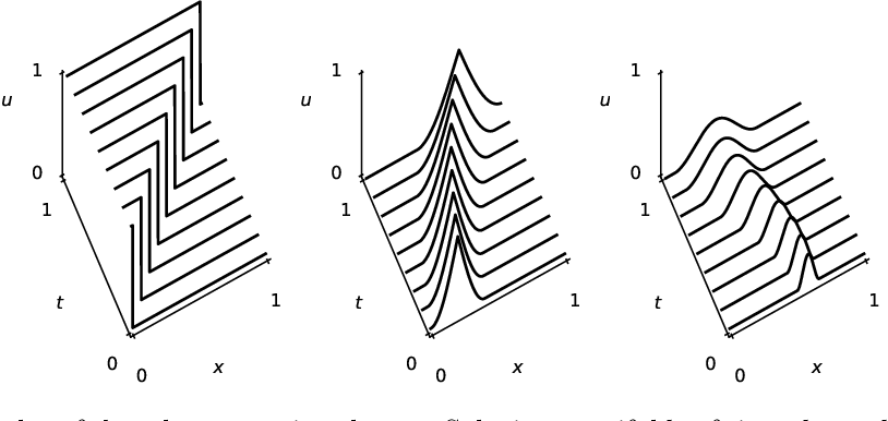 Figure 1 for Depth separation for reduced deep networks in nonlinear model reduction: Distilling shock waves in nonlinear hyperbolic problems