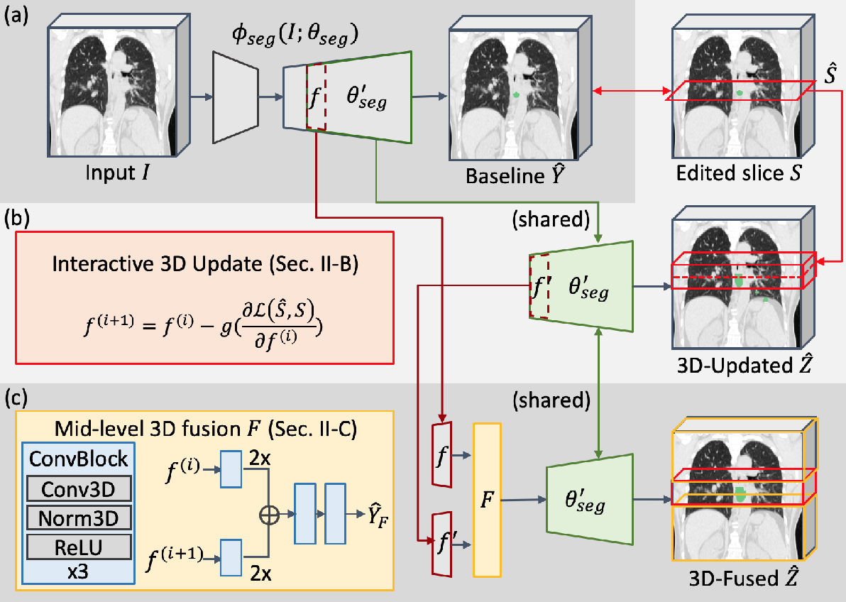 Figure 2 for Interactive Radiotherapy Target Delineation with 3D-Fused Context Propagation