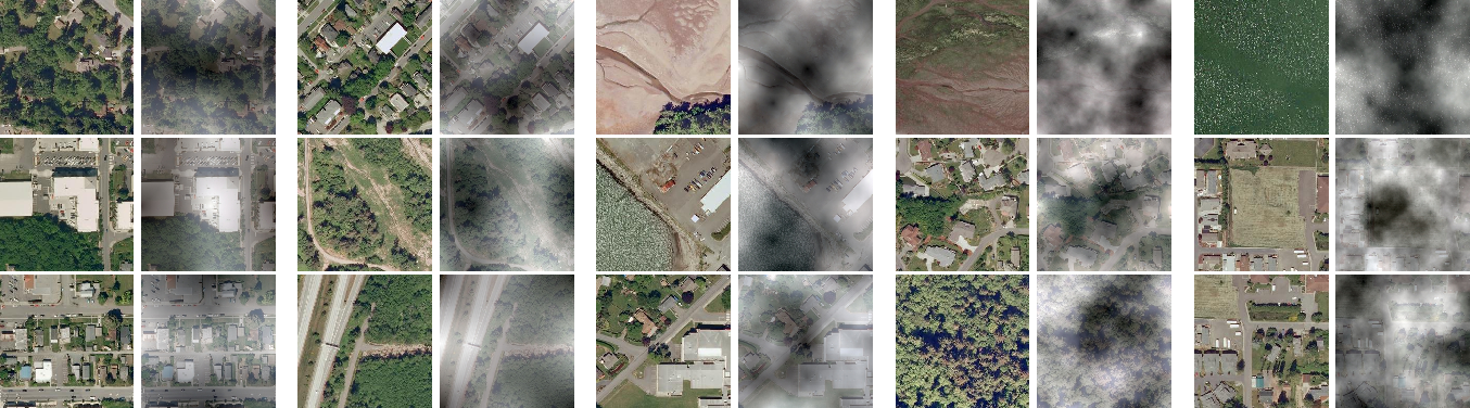 Figure 2 for Domain-Aware Unsupervised Hyperspectral Reconstruction for Aerial Image Dehazing