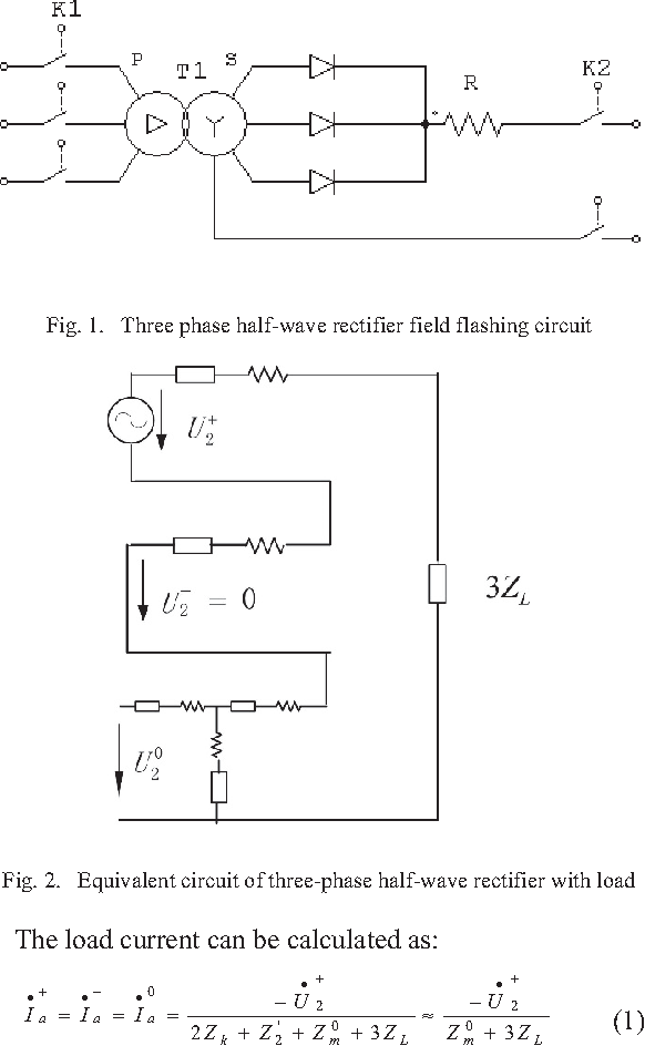 Figure 1 from Field flashing control for large synchronous