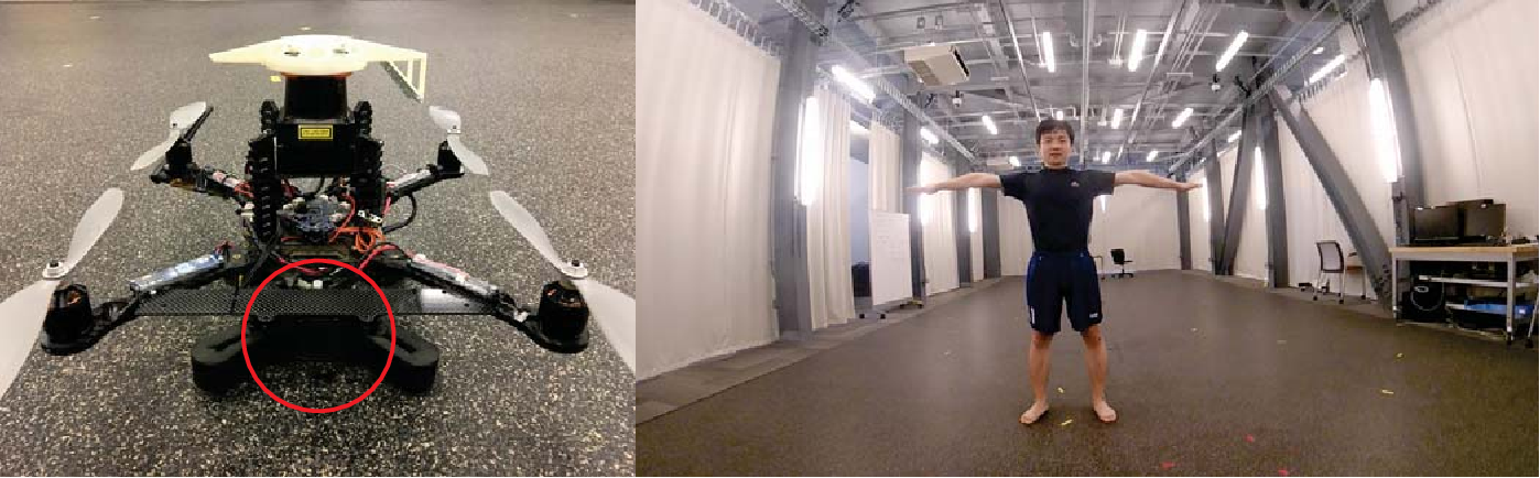 Figure 3 for Human Motion Capture Using a Drone