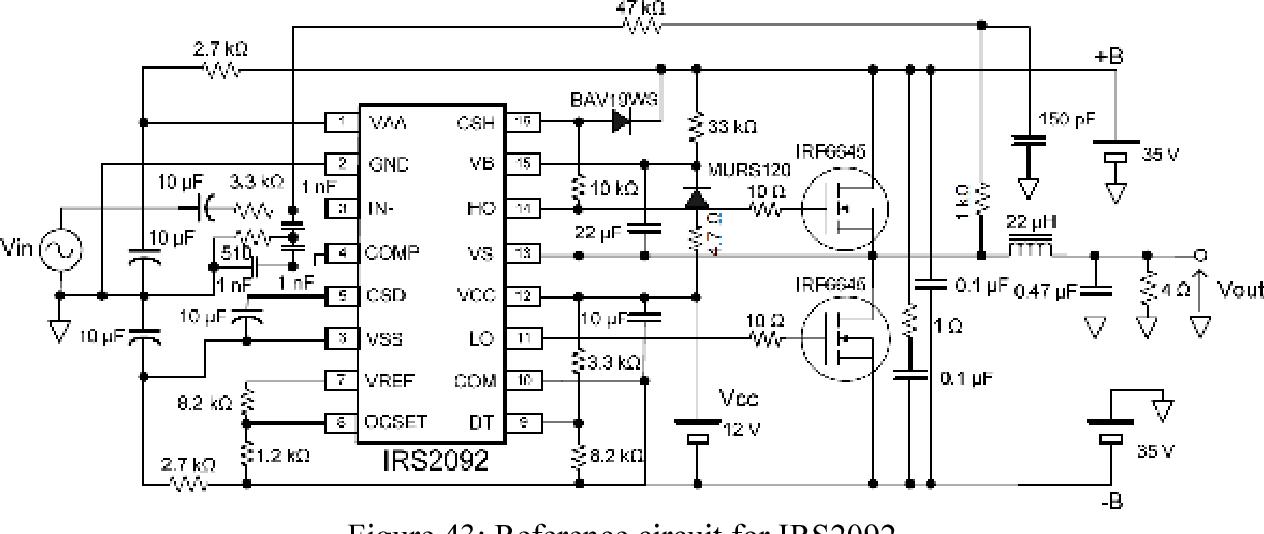 Figure 43 from High Efficiency Audio Amplifier - Semantic Scholar