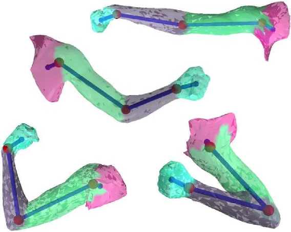 Figure 4 for Recovering Articulated Object Models from 3D Range Data