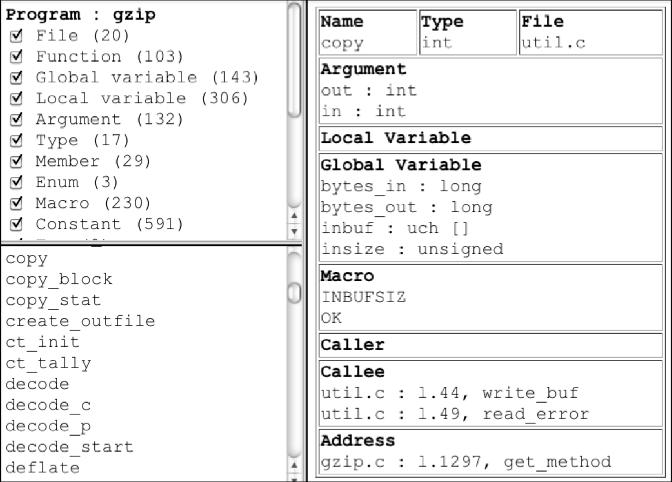 An XML C Source Code Interchange Format for CASE Tools - Semantic