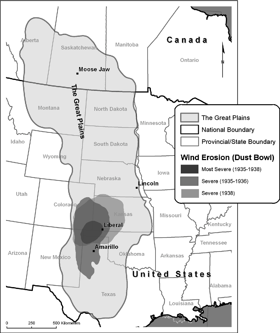 Figure 1 from What we learned from the Dust Bowl: lessons in science on
