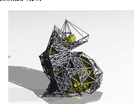 Figure 9: A smooth mesh is embedded in the tetrahedral structure.