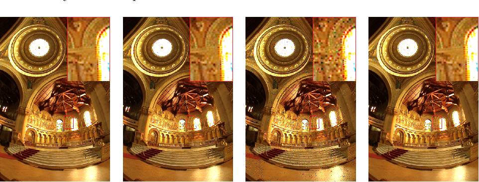 Figure 4 for Robust Multi-Image HDR Reconstruction for the Modulo Camera
