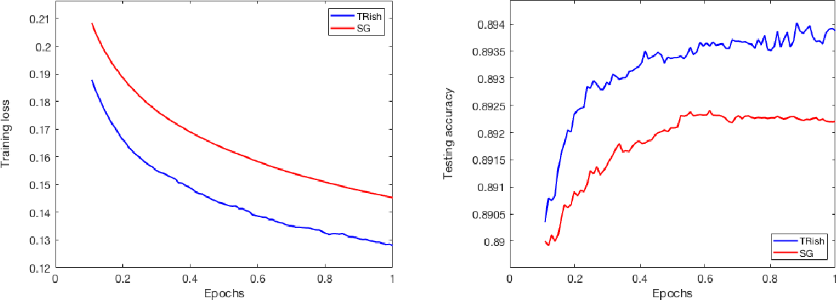 Figure 3 for A Stochastic Trust Region Algorithm Based on Careful Step Normalization