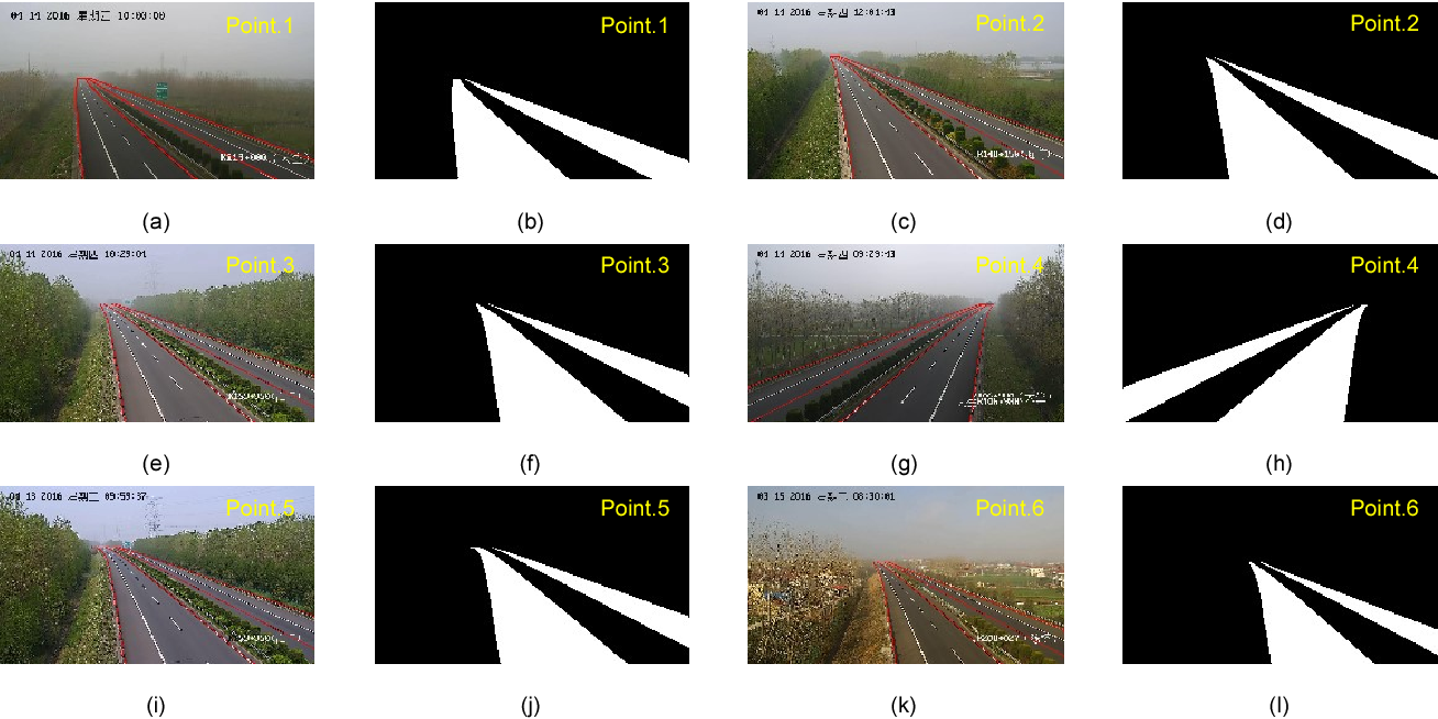 Figure 4 for Expressway visibility estimation based on image entropy and piecewise stationary time series analysis