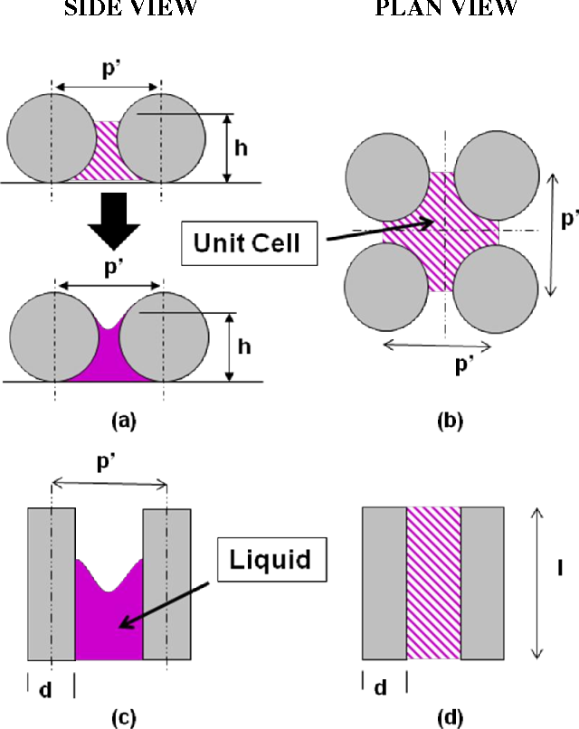 Figure 1 from Numerical Study of Evaporation Heat Transfer From the
