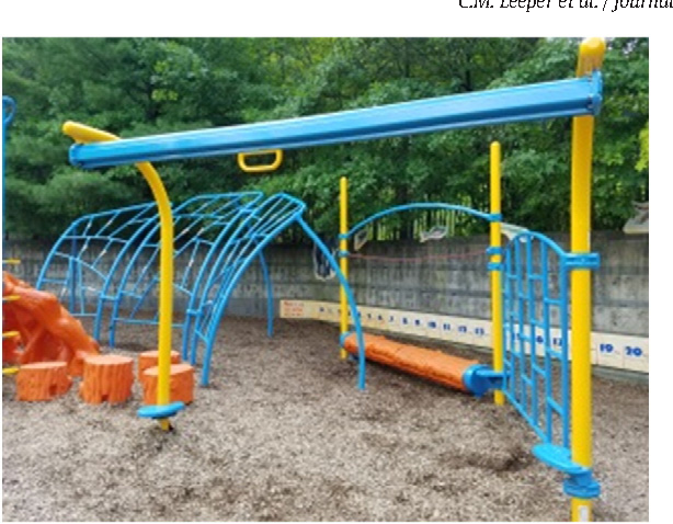 "Playground zipline or ""track ride""."