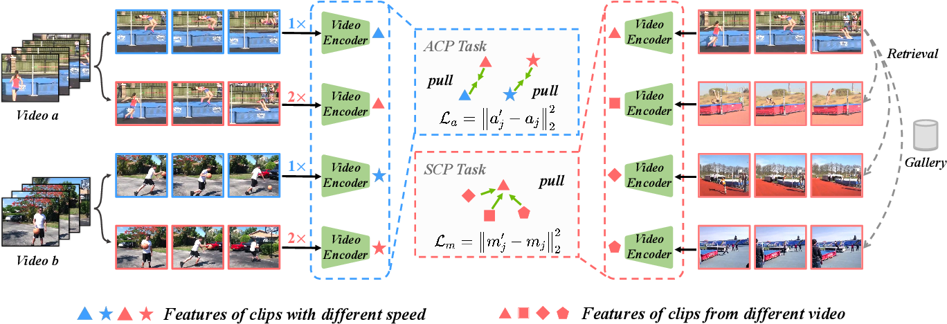 Figure 3 for ASCNet: Self-supervised Video Representation Learning with Appearance-Speed Consistency