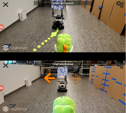Figure 3 for SENSAR: A Visual Tool for Intelligent Robots for Collaborative Human-Robot Interaction
