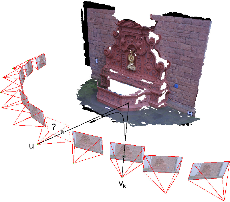 Figure 1 for Rendu basé image avec contraintes sur les gradients