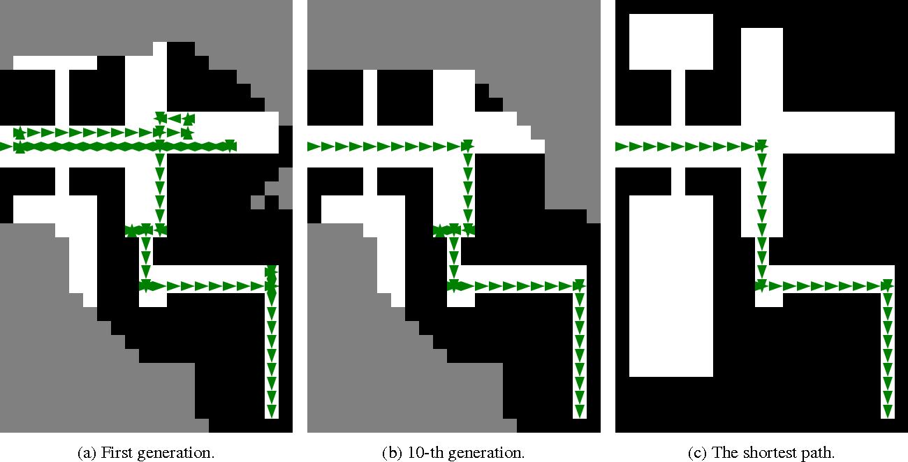 Figure 1 for A genetic algorithm for autonomous navigation in partially observable domain