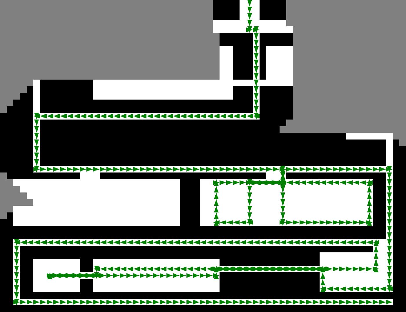 Figure 2 for A genetic algorithm for autonomous navigation in partially observable domain