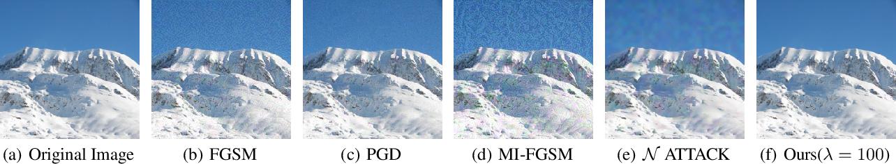 Figure 1 for A Perceptual Distortion Reduction Framework for Adversarial Perturbation Generation