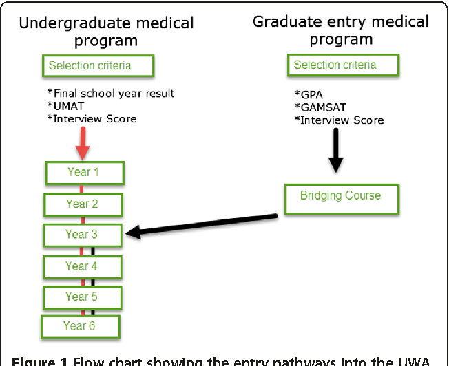 Figure 1 from Graduate entry and undergraduate medical students