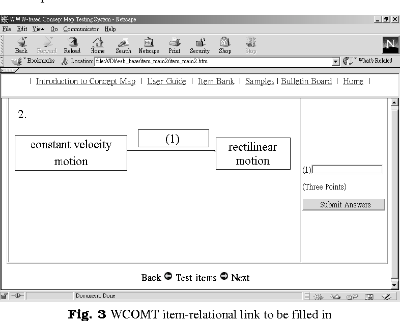 Students' use of web-based concept map testing and strategies for