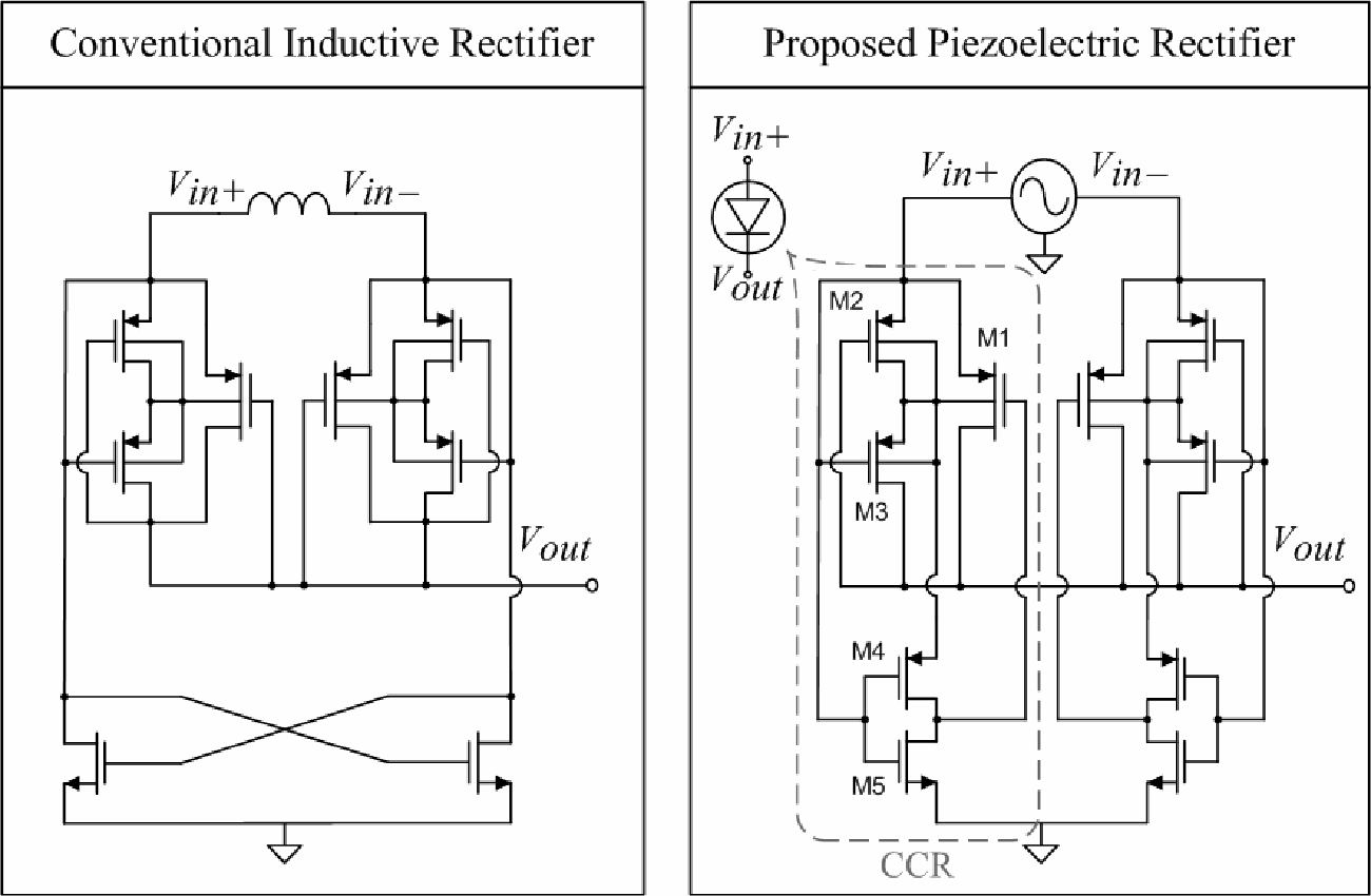 A Full Wave Rectifier For Interfacing With Multi Phase Piezoelectric Diagram Figure 2