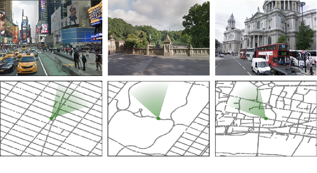 Figure 1 for The StreetLearn Environment and Dataset