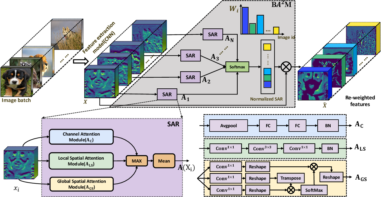 Figure 2 for BA^2M: A Batch Aware Attention Module for Image Classification