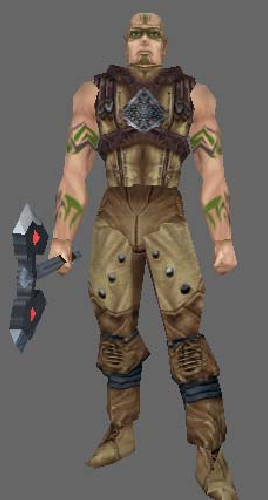 Figure 7: Neverwinter Nights Uthgard Elk Tribesman.