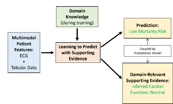 Figure 1 for Learning to Predict with Supporting Evidence: Applications to Clinical Risk Prediction