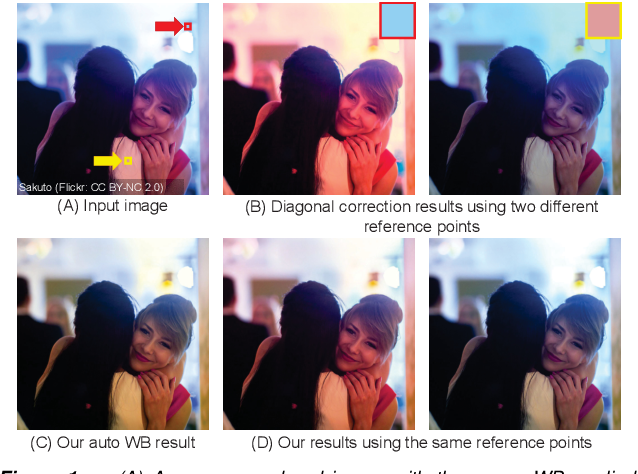 Figure 1 for Interactive White Balancing for Camera-Rendered Images