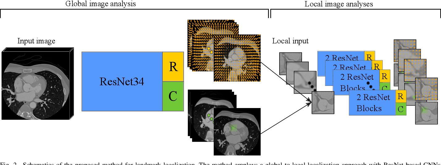 Figure 2 for Deep Learning-Based Regression and Classification for Automatic Landmark Localization in Medical Images