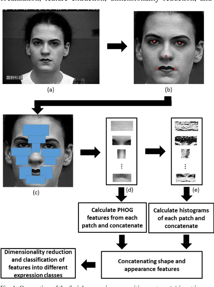 Figure 1 for Robust Facial Expression Classification Using Shape and Appearance Features