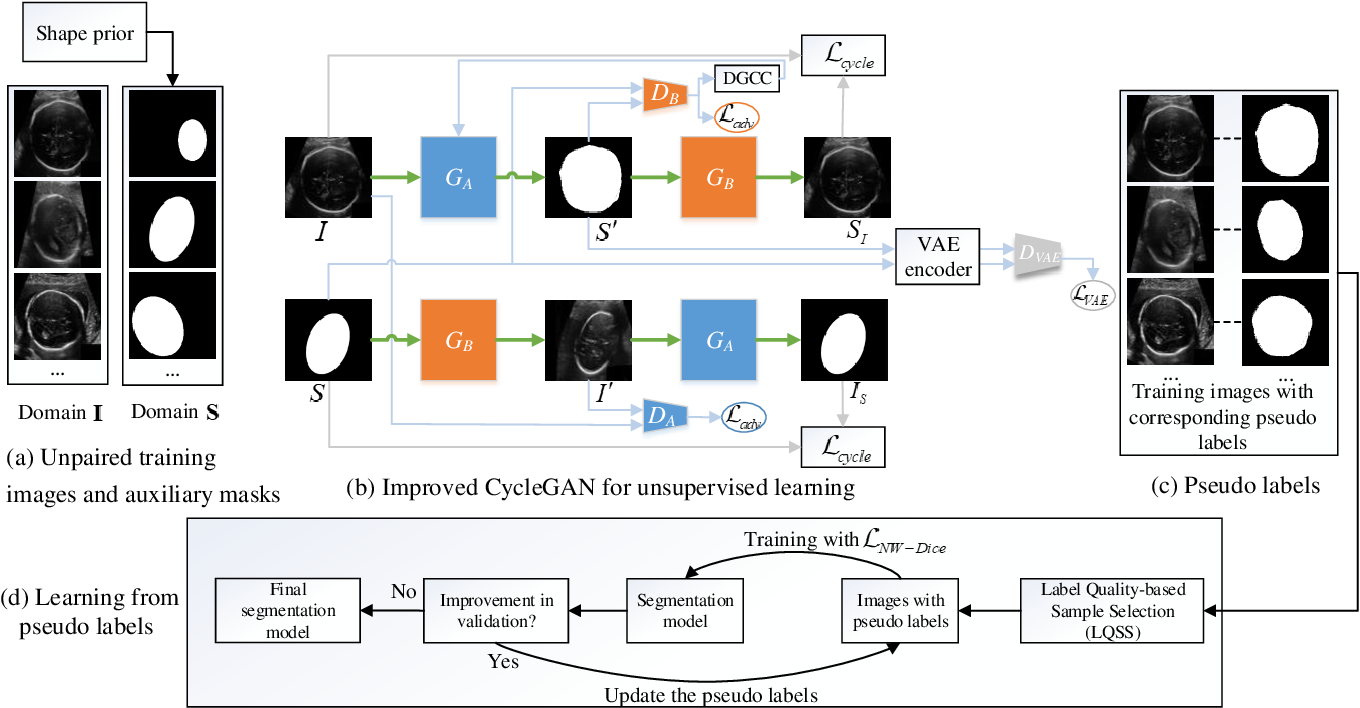 Figure 1 for Annotation-Efficient Learning for Medical Image Segmentation based on Noisy Pseudo Labels and Adversarial Learning