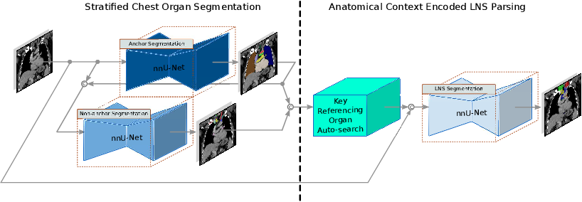 Figure 3 for DeepStationing: Thoracic Lymph Node Station Parsing in CT Scans using Anatomical Context Encoding and Key Organ Auto-Search