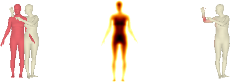 Figure 4 for Coherent Reconstruction of Multiple Humans from a Single Image