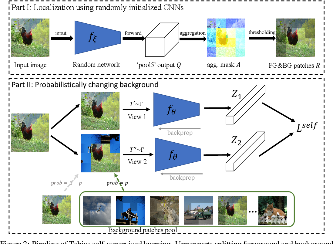 Figure 3 for A Random CNN Sees Objects: One Inductive Bias of CNN and Its Applications