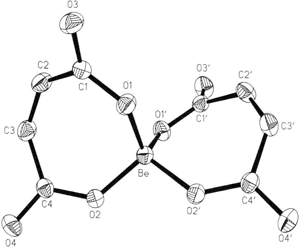 Figure 3 From Complexation Of Beryllium Ii By Maleic And