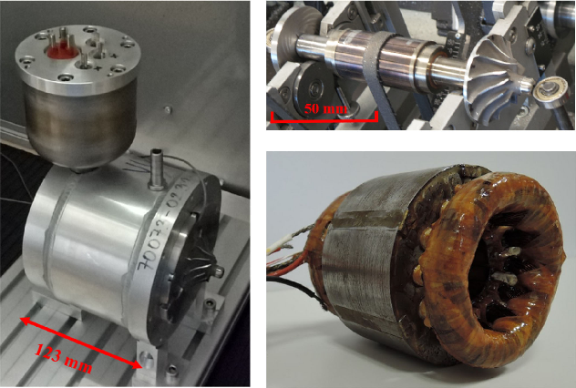 Squirrel-Cage Rotor Design and Manufacturing for High-Speed