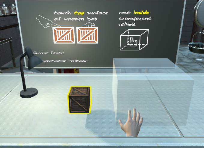 Figure 3 for Electrotactile Feedback in Virtual Reality For Precise and Accurate Contact Rendering
