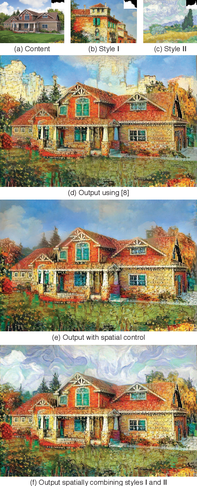 Figure 1 for Controlling Perceptual Factors in Neural Style Transfer