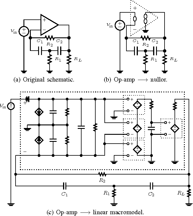 Wave Digital Filter Modeling Of Circuits With Operational Amplifiers