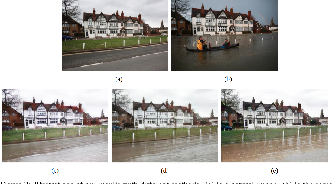 Figure 2 for Using Simulated Data to Generate Images of Climate Change