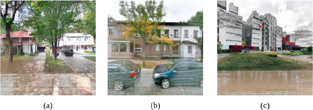 Figure 3 for Using Simulated Data to Generate Images of Climate Change
