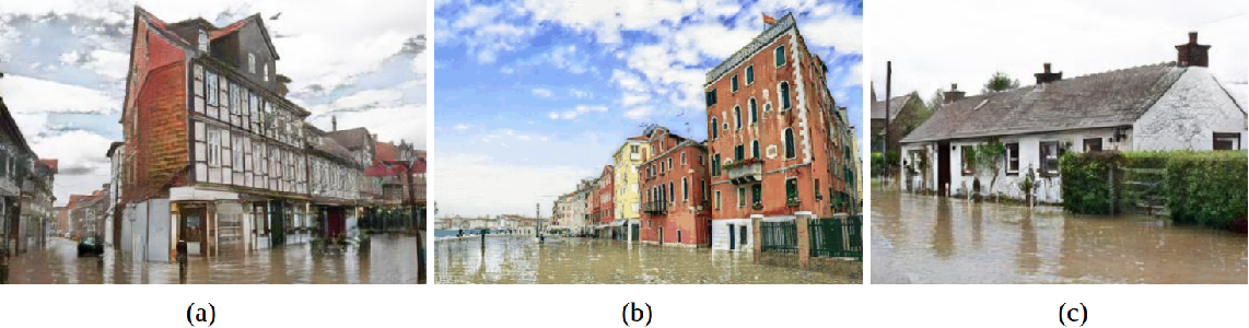 Figure 4 for Using Simulated Data to Generate Images of Climate Change