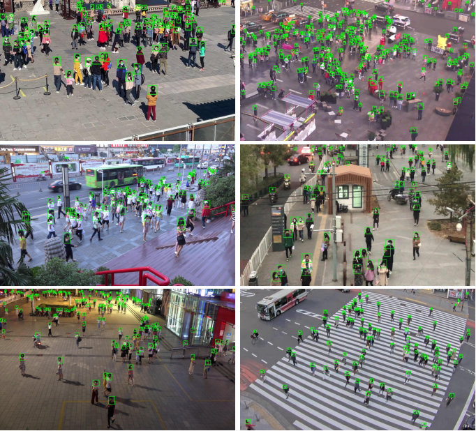 Figure 1 for Video Crowd Localization with Multi-focus Gaussian Neighbor Attention and a Large-Scale Benchmark