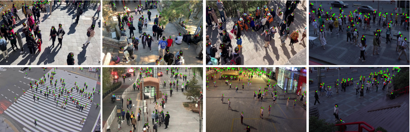 Figure 3 for Video Crowd Localization with Multi-focus Gaussian Neighbor Attention and a Large-Scale Benchmark