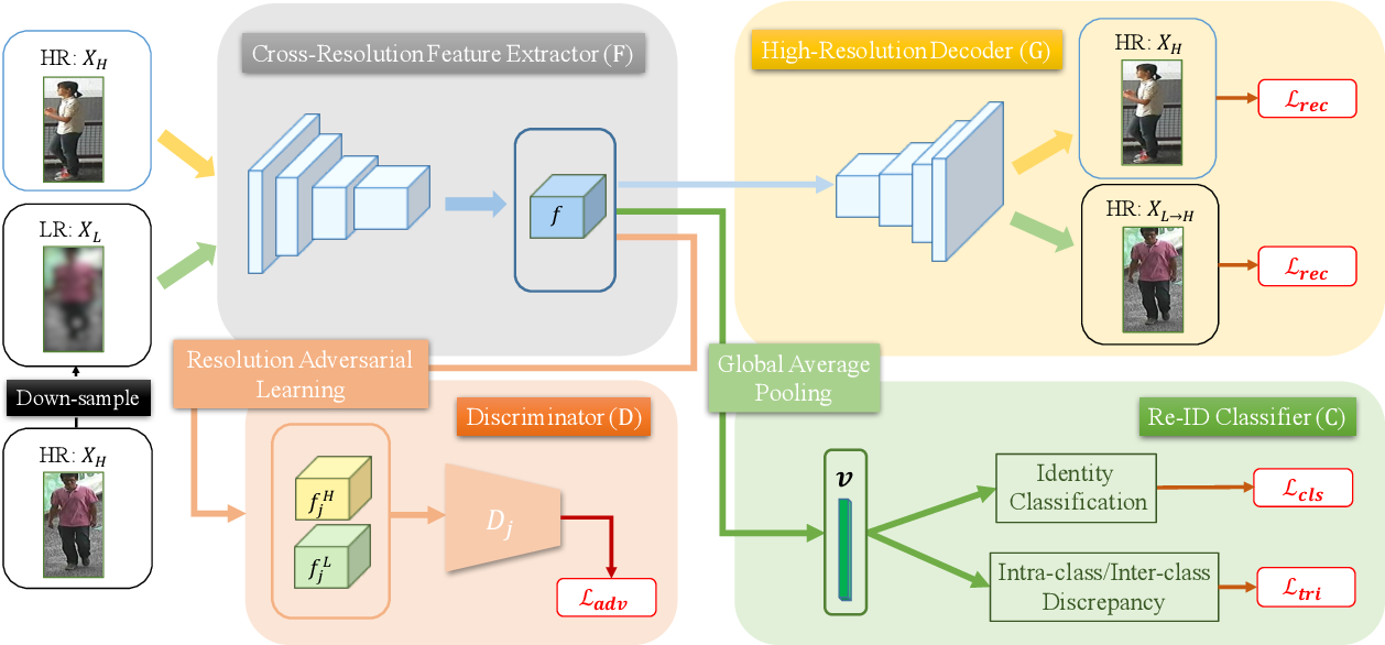 Figure 3 for Learning Resolution-Invariant Deep Representations for Person Re-Identification